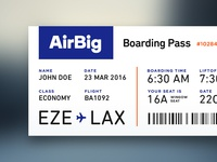 Day 24 — Boarding Pass