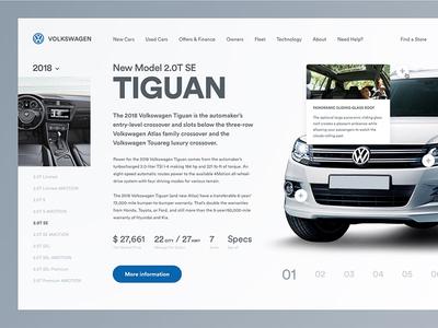 Volkswagen Web Concept