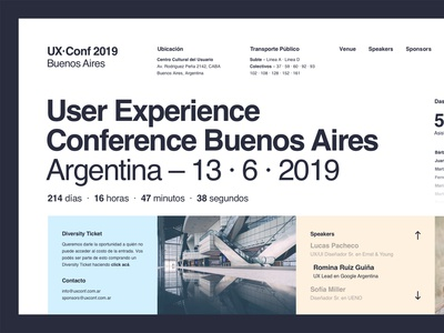 UX · Conf 2019 Buenos Aires – Layout Exploration