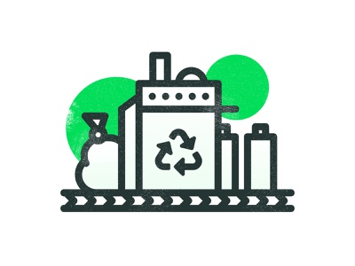 Sustainable Icons – Part 2 plantable texture sustainable stroke packaging line illustration icons green ecofriendly