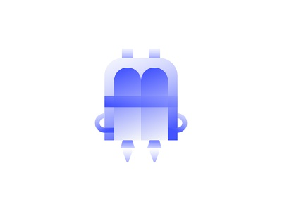 Webflow Jobs —Icons iconography webflow blue crisp simple clean interface minimal simple gradient illustration icon