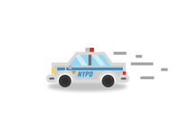 Police Car NYPD Icon