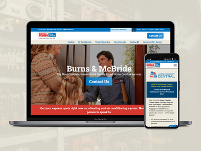 Home Services Website home services responsive wordpress ui landing page web design