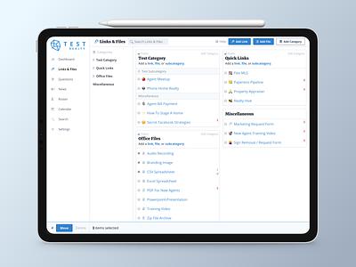 Real Estate SaaS Features web app vue.js web design app dashboard saas real estate responsive mobile ux ui product design