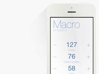 Macro - Macronutrient Tracker