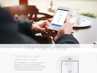 Macro Website