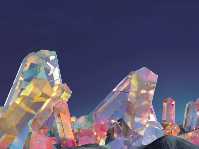 Cristales sky nature crystal