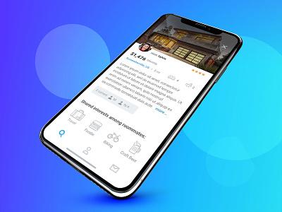 Roome - Roommate App roommates roommate user uidesign mobile user interface design user experience user interface ui design ux uiux flat ui