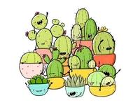 Succulents Doodle