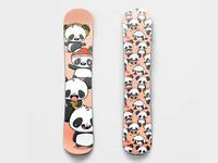 Panda Snowboard