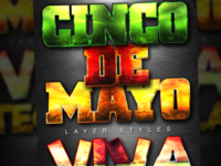 Cinco De Mayo Photoshop Layer Styles
