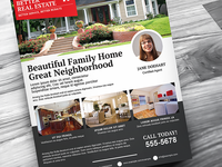 Better Real Estate Flyer Template V6