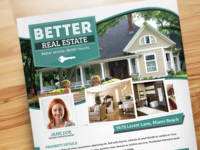 Better Real Estate Flyer Template V5