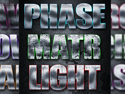 Futuristic Layer Styles colorful lights futuristic psd photoshop gaming text mobile styles layer ios logo game style effect design application app android 3d
