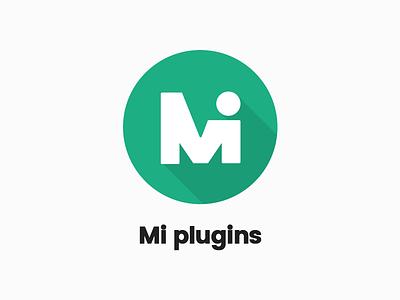 Mi Plugins vector mi logo itsekhtiar illustrator illustration identity icon flat design branding brand