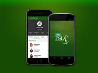 Pakistan Super League — Cricket Mobile App