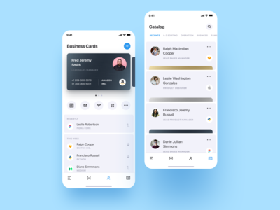 Personal CRM. Light Mode