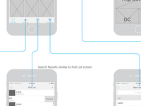 Pull List Wireframe
