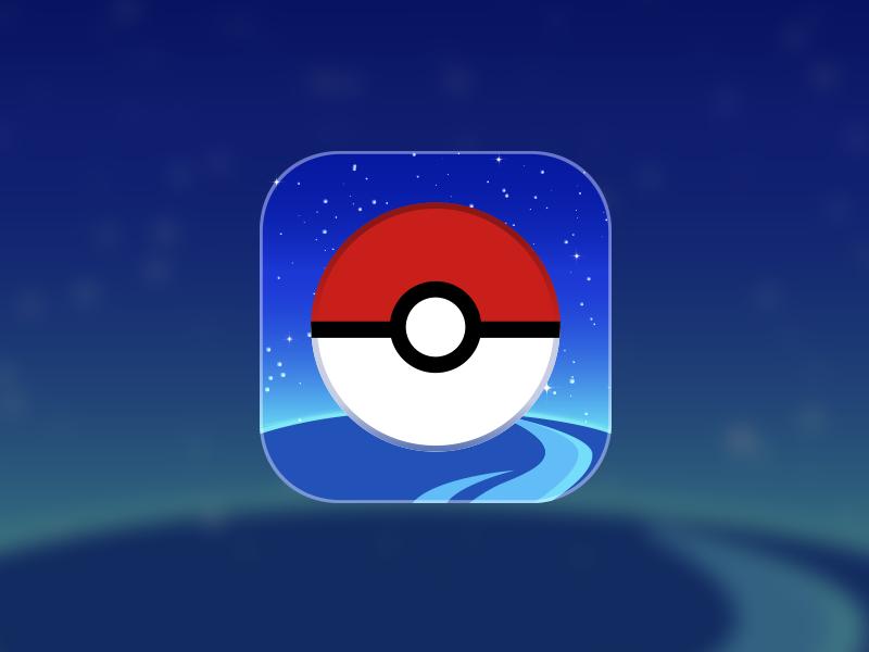 Pokémon Go Icon Redesign pokemon go app redesign ios icon pokemon