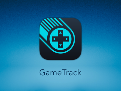 GameTrack App Icon videogames gaming tracker ios d-pad controller games video icon app