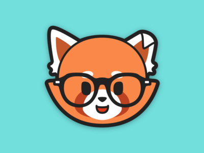 Red Panda red panda icon design avatar