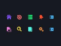 Web App Nav/UI Icons