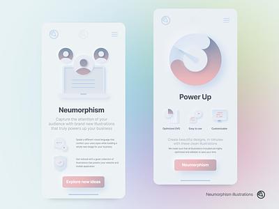 Neumorphism illustrations design illustrations ux icons icon vector analytics chat power soft website applicatiomn ui illustration neumorphism