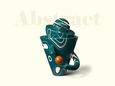 Abstract 3D illustrations getillustrations composition banner hero ui illustrations blender obj shapes abstract illustration 3d