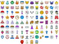 Pokemon go icons