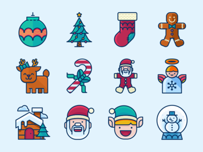 Free Christmas Icons Pack