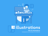 Ui Illustrations Project Coming Soon