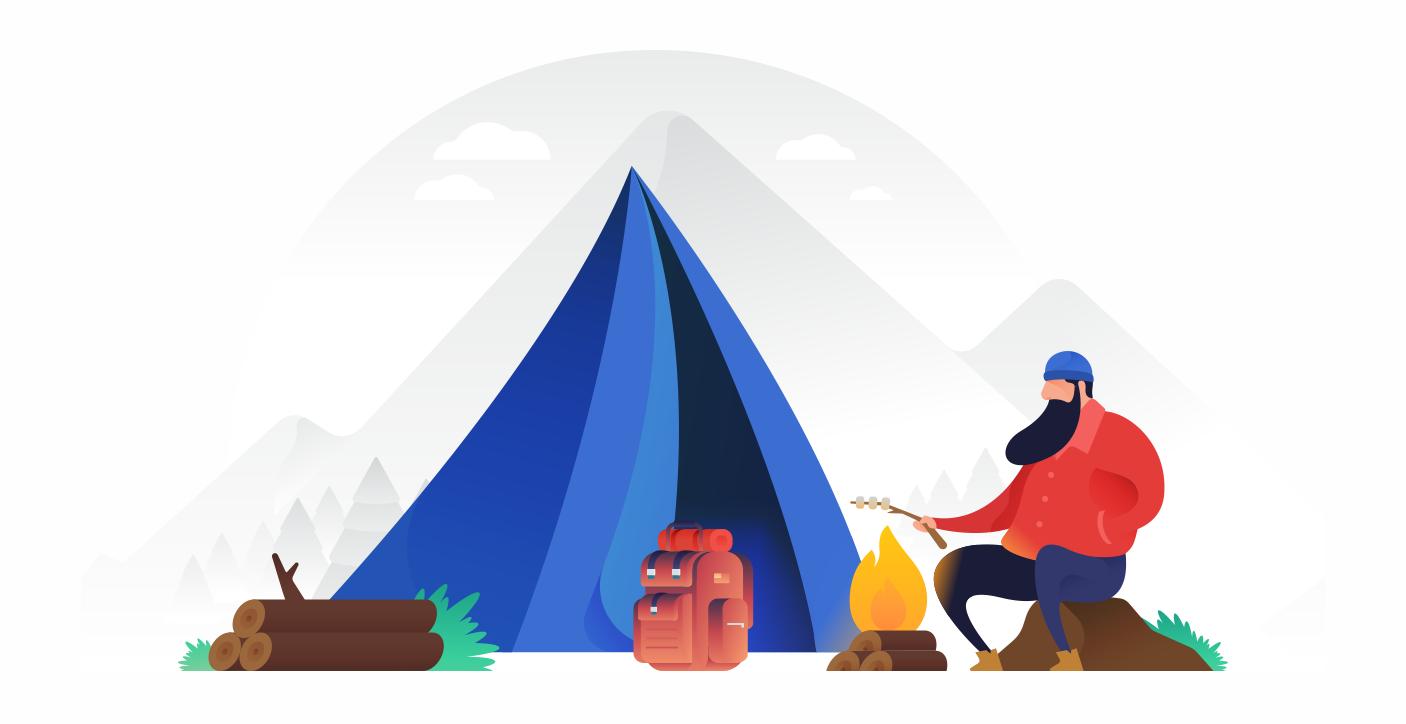 Camping full scene