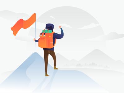 Success vector illustration