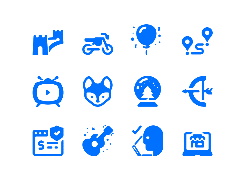 Solid icons pack