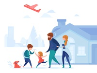 Family Insurance Illustration