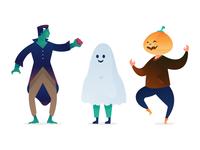 Halloween Characters 2018