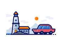 Light House - Travel Icons