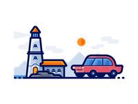 Light House - Travel Icons
