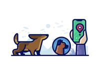 Pet Tracker Illustration