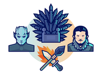 15 Game Of Thrones Free Icons Set