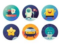 Badges Custom Icons