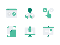 Accent Icons Business