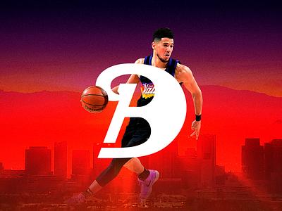 Devin Booker DB1 ✦✦✦ Brand Identity Concept monogram lettermark identity branding athlete logo devin book