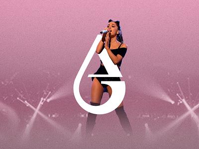 Ariana Grande ✦✦✦ Brand Identity Concept monogram lettermark branding logo ari grande ariana