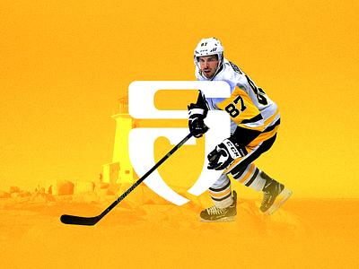 Sidney Crosby ✦✦✦ Brand Identity Concept / Personal Case Study identity branding personal athlete monogram lettermark logo hockey crosby