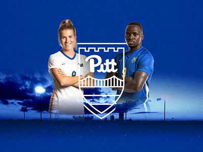 Pitt Soccer Crest ✦✦✦ Official Brand Identity & Kit Design pittsburgh pitt bridge crest logo