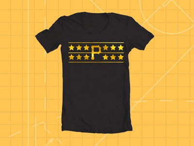 Pittsburgh Pirates Throwback Stars FSF pittsburgh pirates stars throwback 1979 free shirt friday freelance hometown