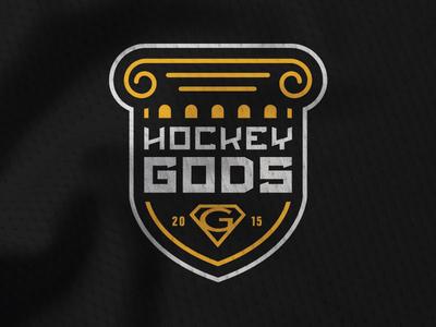 Hockey Gods Tournament Identity
