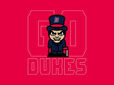 Go Dukes - Duquesne Volleyball