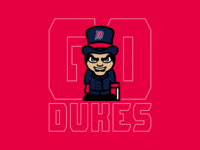Go Dukes - Duquesne Volleyball